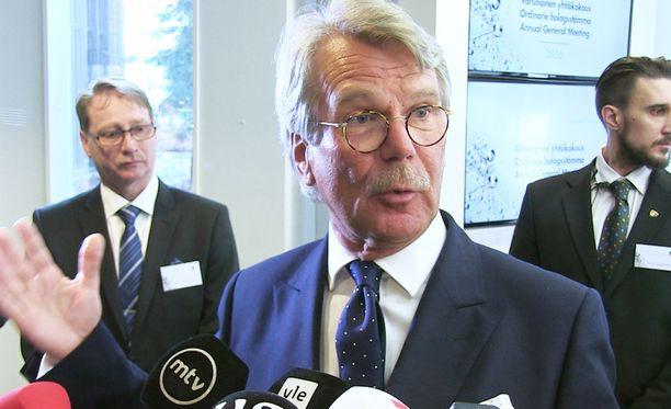 Björn Wahlroos on merkittävä Sampo-konsernin osakkeenomistaja.