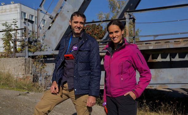 Rob Nelson ja Mary Ann Ochota vierailivat Tsernobylissä 30 vuotta tuhoisan onnettomuuden jälkeen.