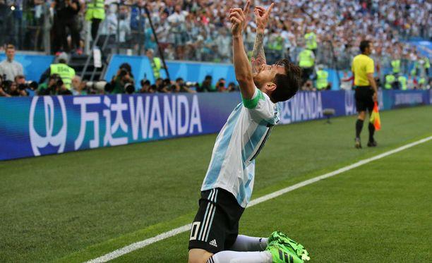 Argentiina kaipaa Lionel Messiltä lisää syitä tuulettaa maaleja.
