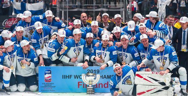 Suomi juhli viime keväänä maailmanmestaruutta Bratislavassa. Tänä keväänä MM-kisoja ei järjestetä.