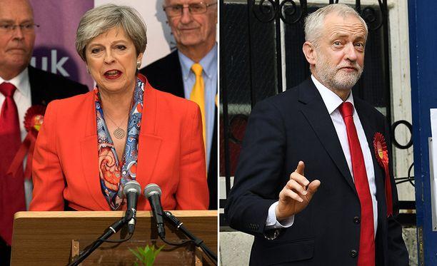 Pääministeri Theresa May ei ole vastannut erospekulaatioihin. Oppositiojohtaja Jeremy Corbynin mielestä Mayn olisi aika lähteä.