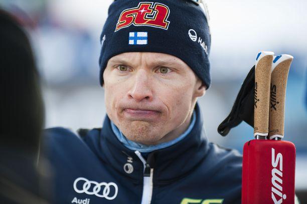 Iivo Niskanen potee selkävammaa, eikä kilpaile sunnuntaina Taivalkosken Suomen cupissa.