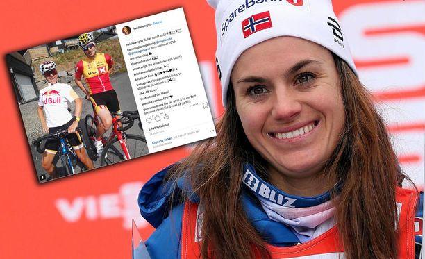 Heidi Wengillä on sosiaalisen median kuvapalvelu Instagramissa noin 97 000 seuraajaa, joten kuvissa näkyvät sponsorit ovat tarkassa syynissä.