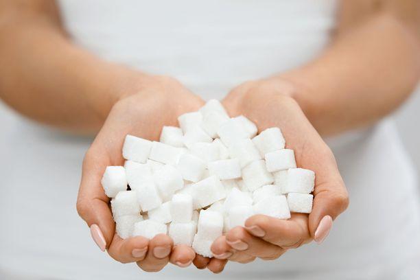 Lisättyä sokeria löytyy monesta tuotteesta.