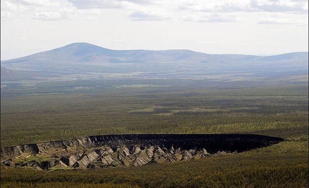 Uusia kraatereita ilmestyy Siperiaan tiheästi.