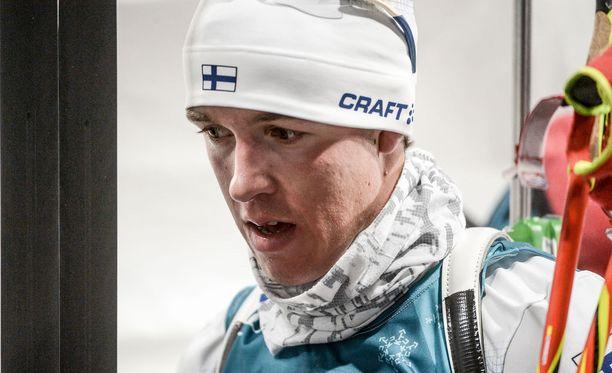 Tero Seppälä on ampumahiihdon toivo.