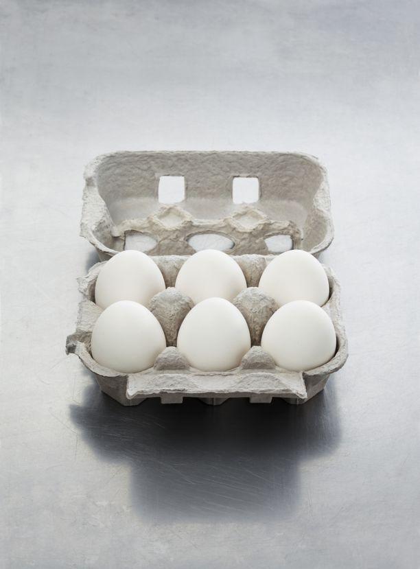 Yksi laatikollinen kananmunia viikossa voi olla jollekin liikaa.