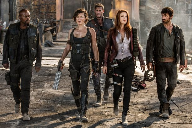 Resident Evil: The Final Chapter -elokuvan kuvaukset puhuttavat edelleen.