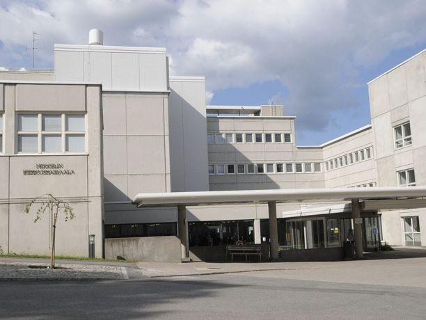 Etelä-Savon sairaanhoitopiiri Essote on toiminut tehokkaasti koronavirusepidemiaa torjuessaan. Kuvituskuva Mikkelin keskussairaalasta.
