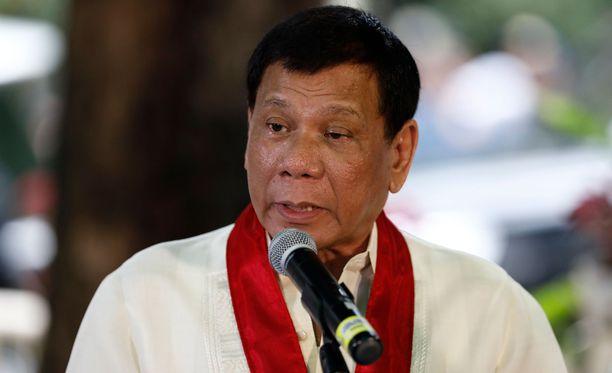 Rodrigo Duterte on tunnettu populistisista linjauksistaan.