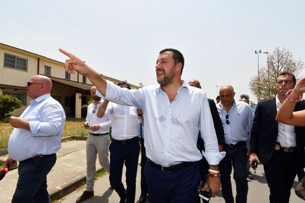 Matteo Salvini on tällä hetkellä Italian näkyvin poliitikko.