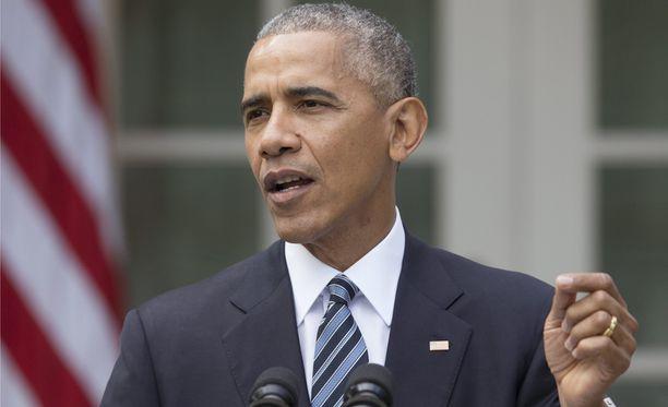 Barack Obama piti keskiviikkona puheen Trumpin vaalivoiton jälkeen.