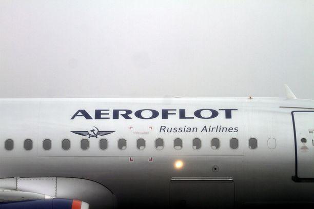 Aeroflotin lennolla Moskovasta Riikaan ilmeni tiistai-iltana teknisiä ongelmia. Kuvituskuva.