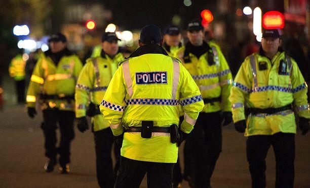 Poliisi johti suuroperaatiota yöllä Manchesterissa.