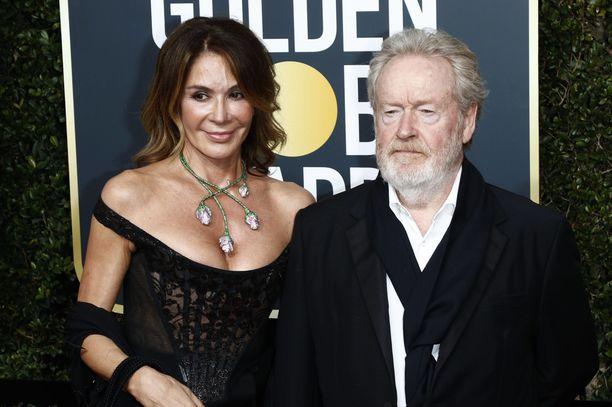 Ridley Scott, 82, on arvostettu elokuvaohjaaja. Hän on ohjannut muun muassa hittielokuvat Alien, Blade Runner ja Gladiaattori.