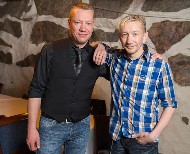 Matti ja Simo Silmu ovat ajautuneet välirikkoon. Tällä hetkellä Matti hakee lähestymiskieltoa sekä Simolle että hänen Päivi-vaimolleen. Kuva vuodelta 2014.