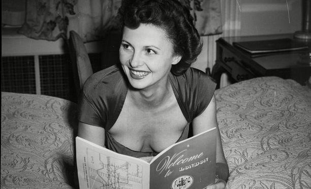 Madeleine Lebeau kuvattuna vuonna 1950.