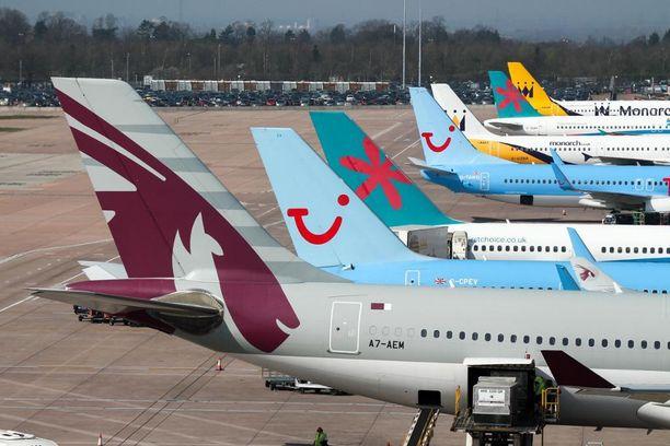 Lentoyhtiöissä on eroja.