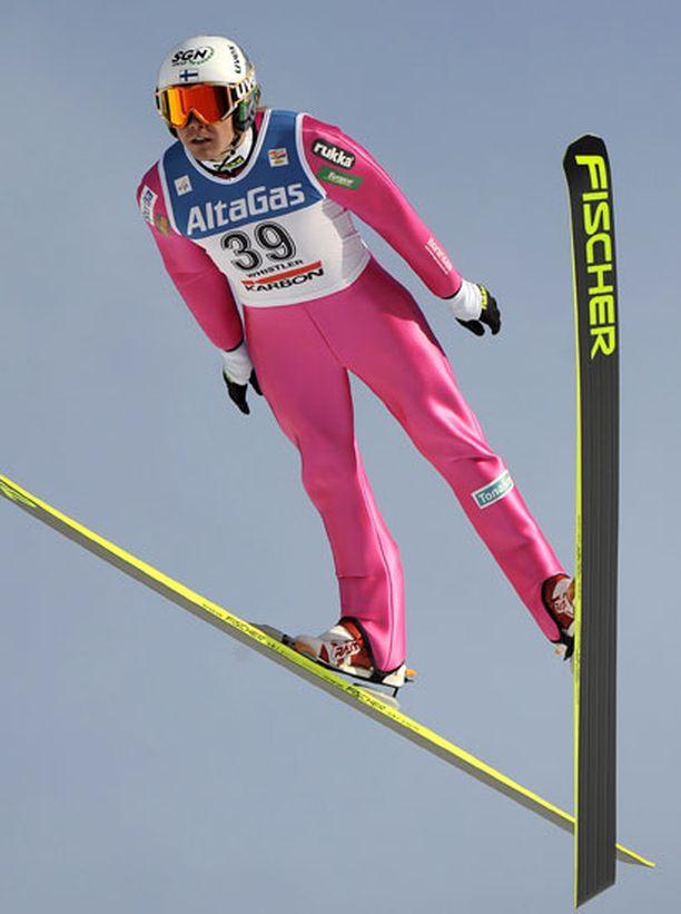 Anssi Koivurannan vire lupaa hyvää ensi vuoden olympialaisiin.