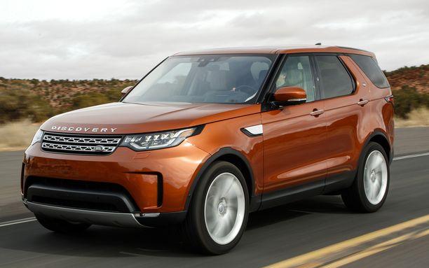 Tässä on Land Rover Discovery. Ihan erilainen, mutta silti jotakin samaa kuin Dusterissa, vai?