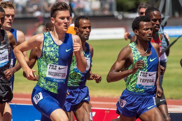Jakob Ingebrigtsen voi voittaa MM-kultaa afrikkalaisten tällä vuosituhannella dominoimalla 1 500 metrin matkalla.