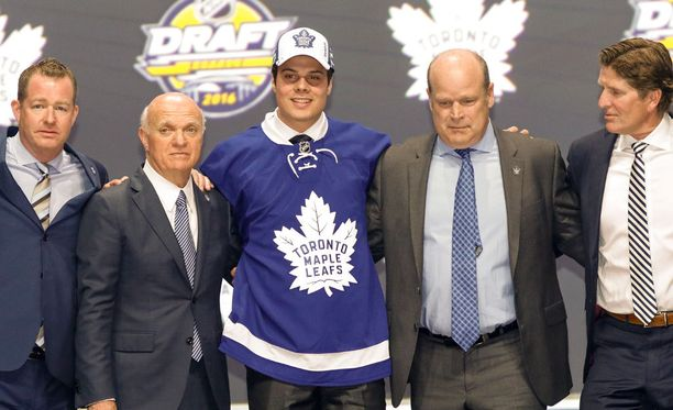 Toronto varasi kesällä Auston Matthewsin ykkösnumerolla.
