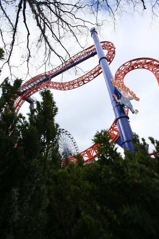 Kirnu-laitteen virallinen korkeus on 25,4 metriä.