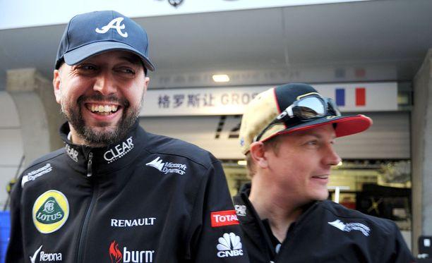 Lotus-pomo Gerard Lopez menetti Kimi Räikkösen luottamuksen pariinkin otteeseen.
