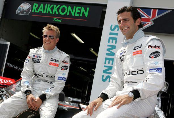 Pedro de la Rosa näki läheltä Kimi Räikkösen lahjakkuuden McLaren-aikoina.