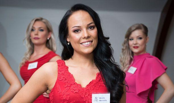 Mirella tippui viime vuonna Miss Suomi -kisan finaalista.