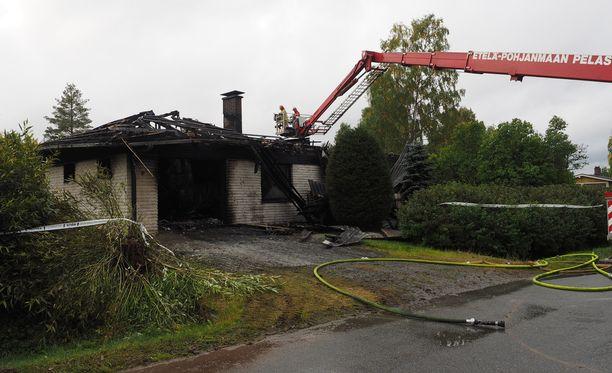 Palossa menehtyi 40-vuotias perheenäiti.