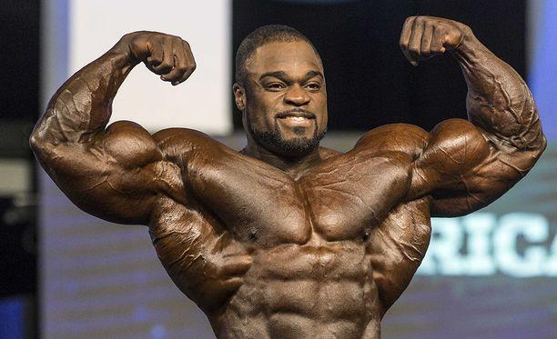 Brandon Curry kuittasi voitostaan 400000 dollaria. Kuva viime vuoden Mr Olympiasta.