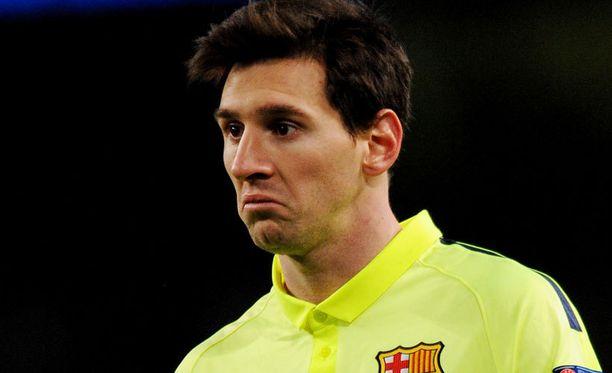 Lionel Messi ei ollut parhaimmillaan viime kaudella.