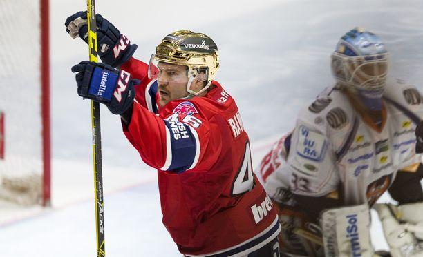 HIFK:n kultakypärän Teemu Ramstedtin paitsiomaali kohahdutti.