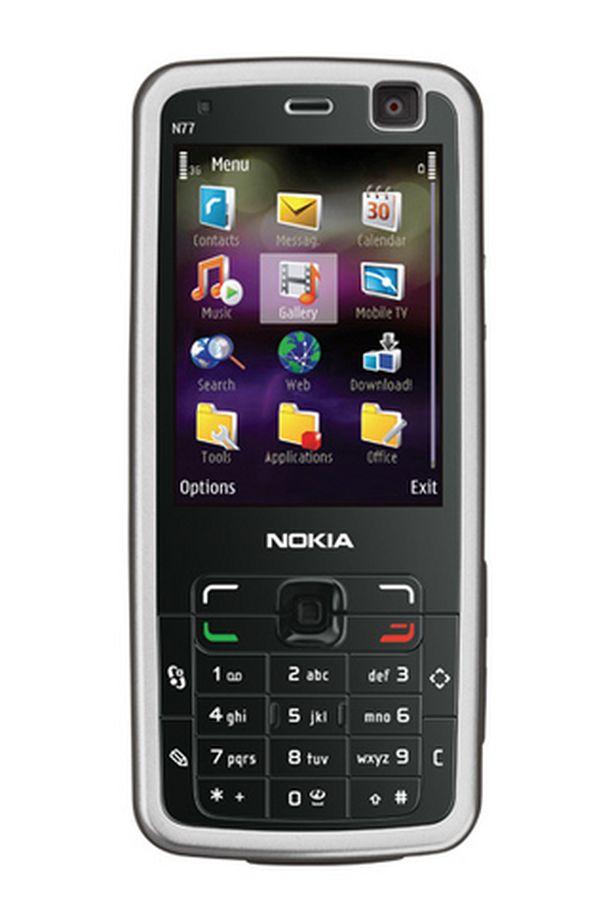 Nokia N77 tukee DVB-H -standardia.