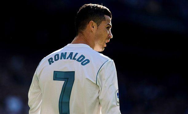 Cristiano Ronaldo siirtyi Juventukseen.