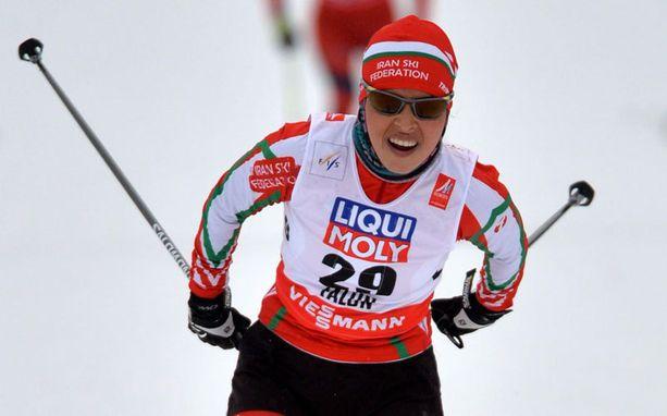 Farzaneh Rezasoltani ei selviytynyt karsinnasta ensi viikolla hiihdettävään naisten vapaan kympin kisaan.