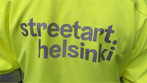 Malminkartanon katutaideprojekti vaati kaupungin monen viraston ja mm. HKL:n yhteistyötä.