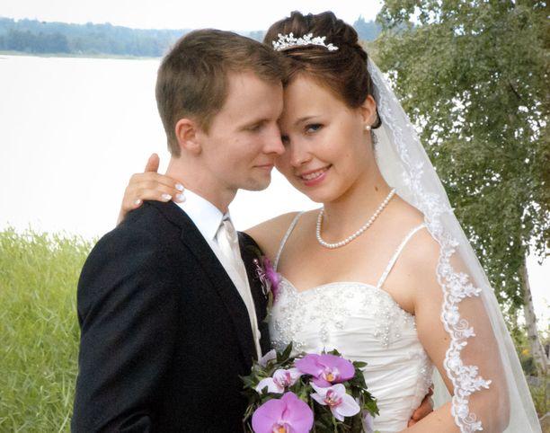 Anssi ja Maria saivat toisensa kesällä 2011.