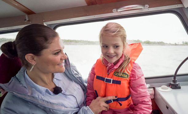 Kruununprinsessa kertoo ohjelmassa toivovansa voivansa viettää nykyistä enemmän aikaa lastensa kanssa.