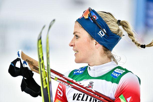 Therese Johaugin nimi on nostettu mitalikohuun mukaan.