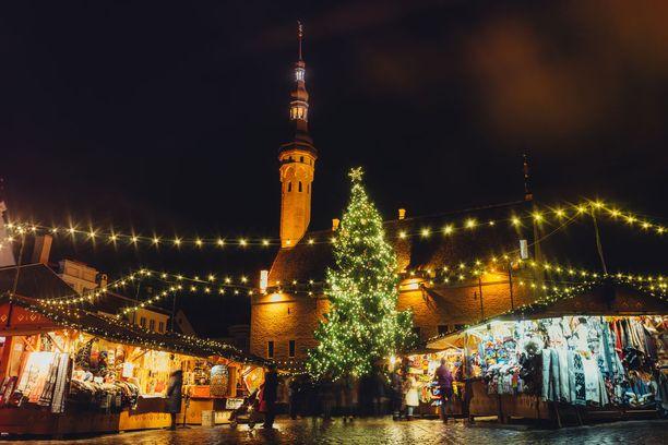 Joulumarkkinat kuuluvat Tallinnan juhlakauteen.