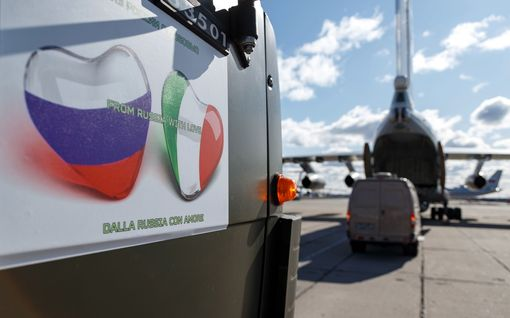 From Russia with love vai ei? Venäjä pelaa arveluttavilla korona-avustuksilla