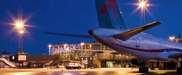 Arkistokuva Rovaniemen lentokentältä.