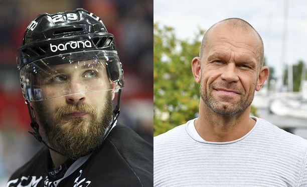 Jonne Virtanen ei arvostanut Jere Karalahden kommenttia aivovammoista.