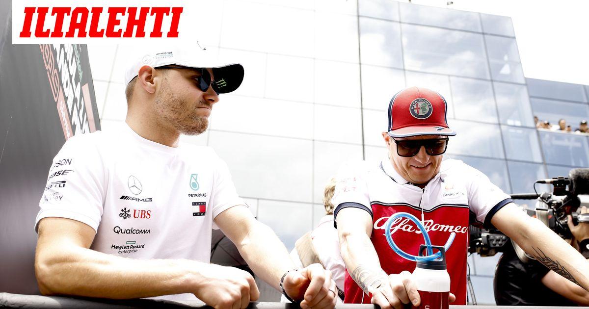 F1-palkkakunkkuna odotettu nimi  Valtteri Bottas tienaa...