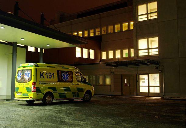 Loukkaantunut vauva kiidätettiin äitinsä kanssa Mikkelin keskussairaalaan.
