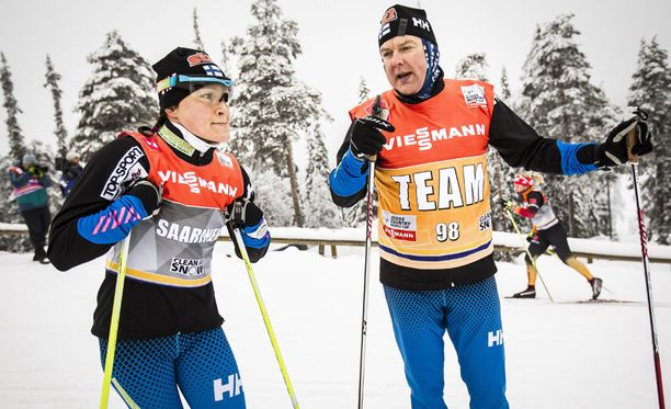 Aino-Kaisa Saarinen on Reijo Jylhän entinen henkilökohtainen valmennettava.