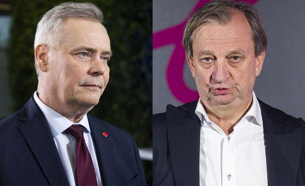 SDP:n puheenjohtaja Antti Rinne ja kansanedustaja Harry Harkimo (liik) saivat kymmeniä ääniä Helsingissä, vaikka olivat molemmat ehdolla Uudellamaalla.