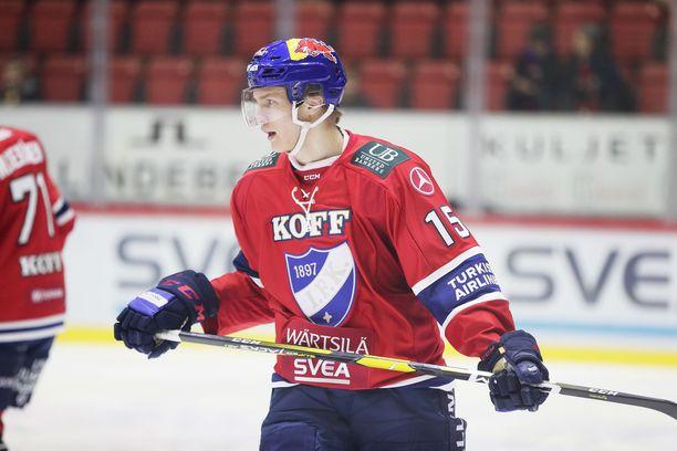 Anton Lundell edustaa tulevallakin kaudella Helsingin IFK:ta.
